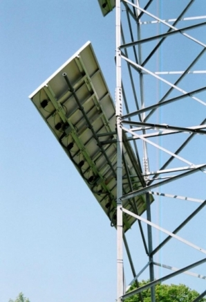 Solar Panel Supporting Structure